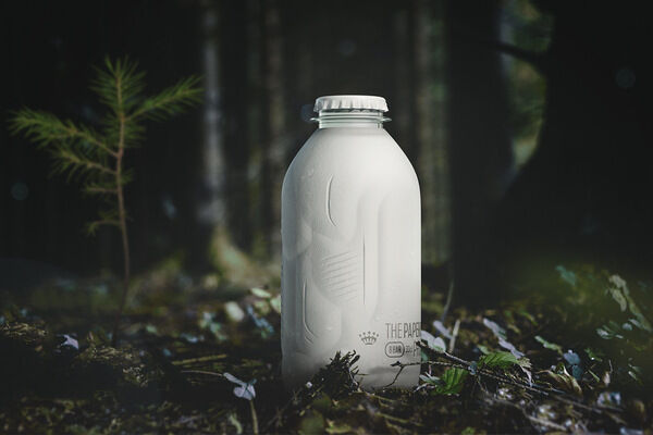Paperbottle, flaska av träfiber