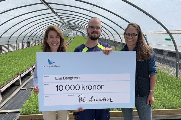 Karin Wijkander, Emil Bengtsson, Elin Ekstrand